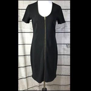 Express Bodycon Ribbed Midi Dress